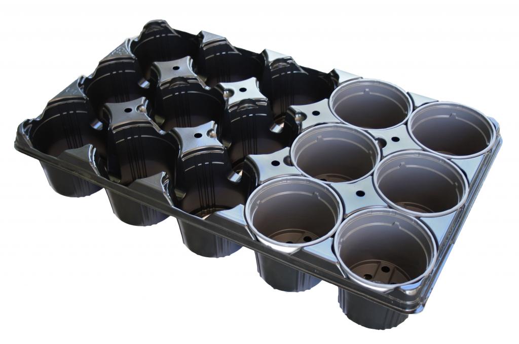 Vassoio 15 posti per vaso diametro 10,5